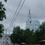 Вид на Преображенский храм
