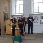 Солисты хора Валаамского монастыря
