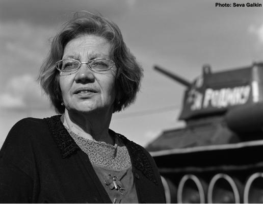 Лариса Николаевна Васильева, основатель и президент музейно-мемориального комплекса «История танка Т-34»