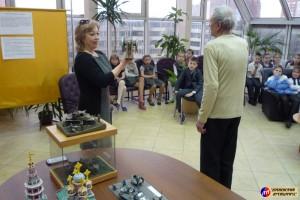 Гость выставки - И.А.Полярный