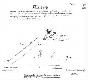 План Серафимовского подворья Никитского женского монастыря