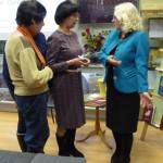 Общение с лобненскими библиотекарями