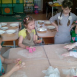 Техника мокрого валяния доступна даже дошкольникам