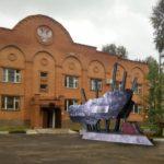 Визуализация проекта памятника, выполненая автором - А.С.Жулановым. Сторона, посвящённая ратному подвигу 55(6) ОДБП