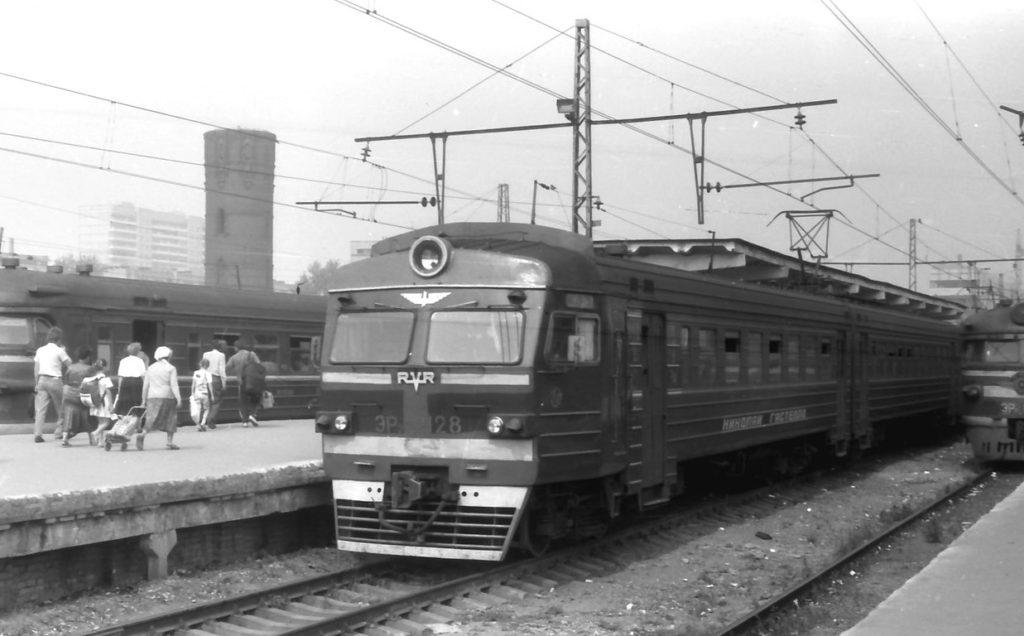 ЭР2-1128 ''Николай Гастелло'' (август, 1992)