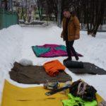 """Этап """"Установка палатки"""""""