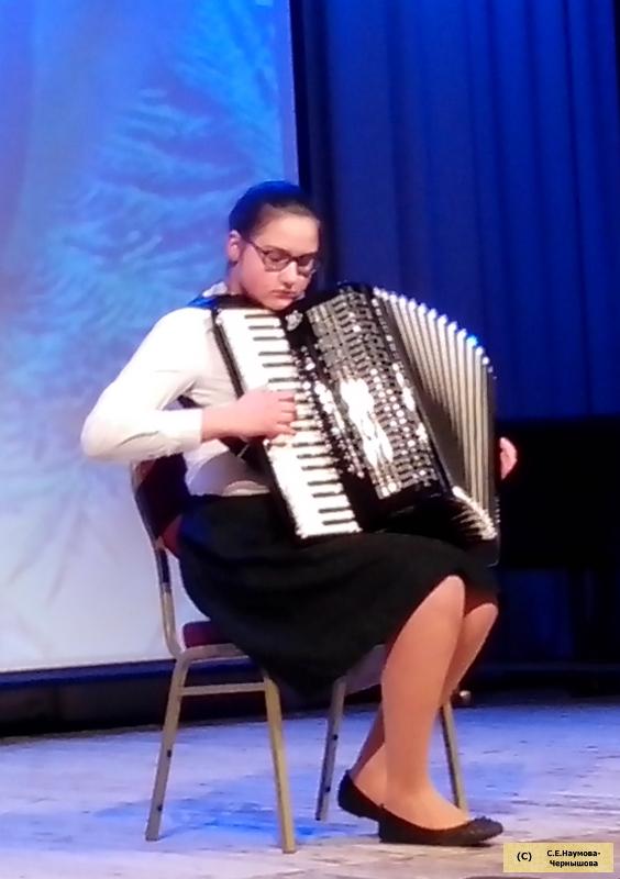 Вальс Г.Свиридова «Метель» исполняет М.Ерофеева, ученица Г.И.Бойцовой