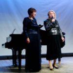 Романс «Тёмно-вишнёвая шаль» исполняет Т.А.Князева