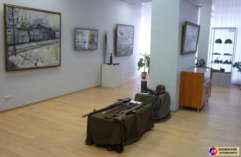 Экспозиция одного из залов