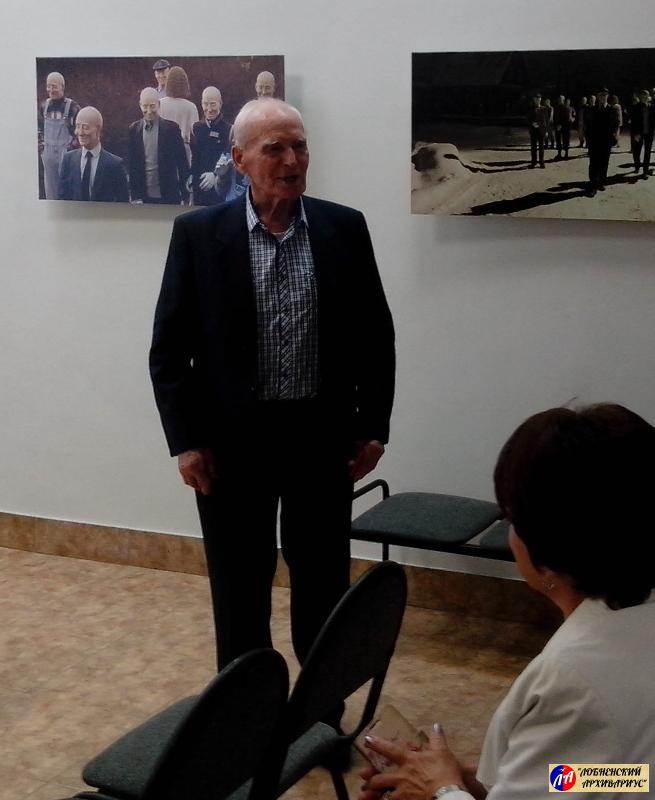 Почётный гражданин города Лобня, фронтовик Д.И.Куликов