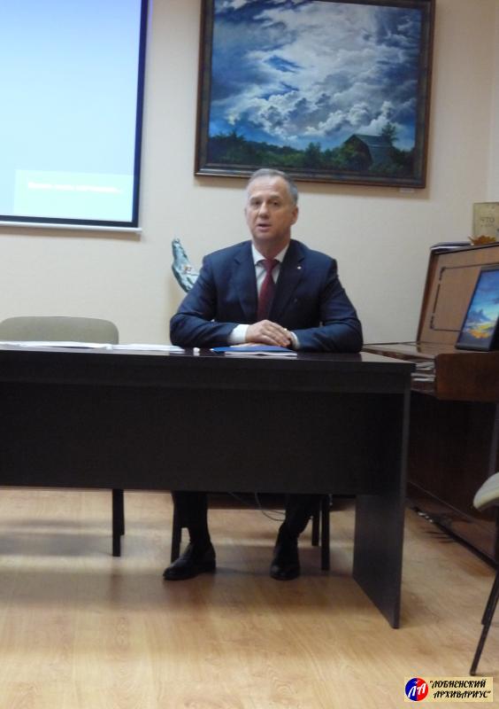 Выступление В.В.Бодрова, руководителя лобненского городского отделения РВИО